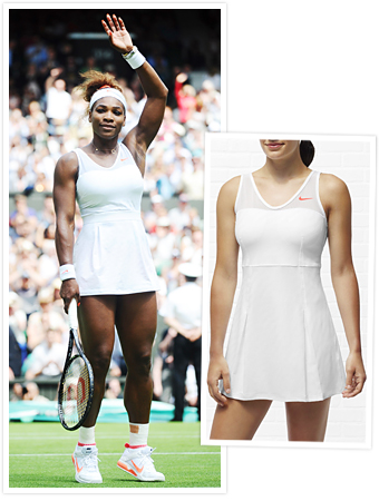 Serena Williams Nike Dress at Wimbledon