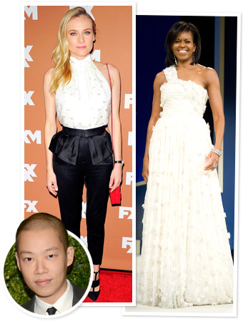 Jason Wu, Diane Kruger and Michelle Obama