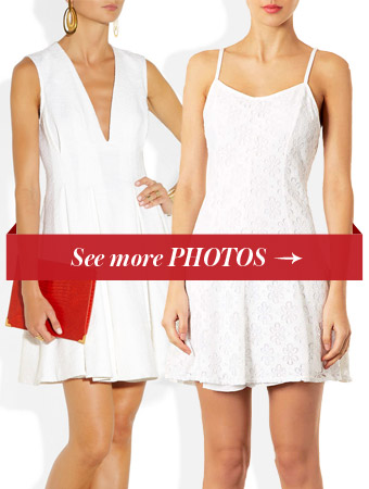 Wimbledon-inspired tennis dresses