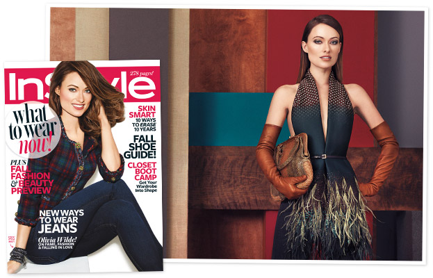 Olivia Wilde August 2013 InStyle Cover