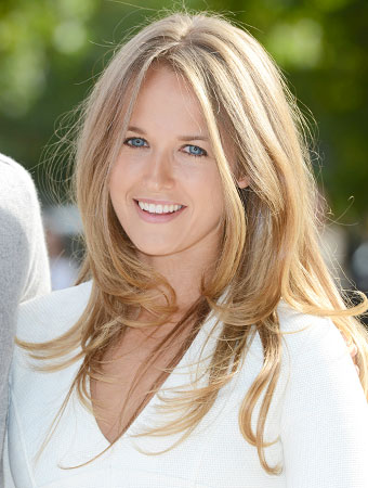 Kim Sears Hair - Wimbledon