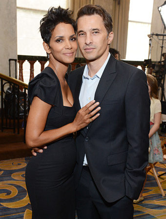 Halle Barry and Olivier Martinez