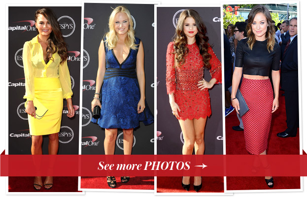 Chrissy Teigen, Malin Akerman, Selena Gomez, and Olivia Wilde