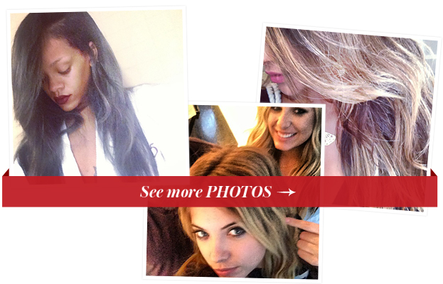 Instagram - New Hair - Rihanna - Shay Mitchell
