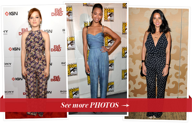 Celebrities in Jumpsuits