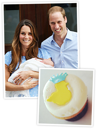 Cupcakes for Royal Baby