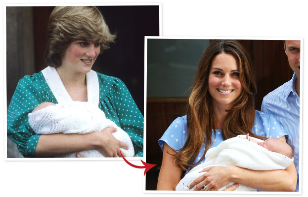 Princess Diana, Kate Middleton
