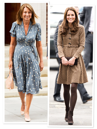 Carole Middleton, Kate Middleton