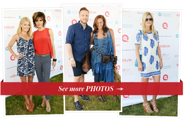 Kelly Ripa, Lisa Rinna, Ariel Foxman and Donna Karan and Nicky Hilton