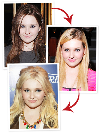 Abigail Breslin Blonde Hair