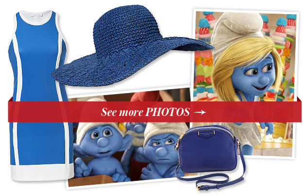 The Smurfs 2 Shopping