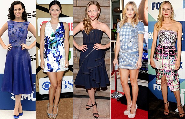 Katy Perry, Rachel Bilson, Amanda Seyfried, Kate Hudson, and Diane Kruger