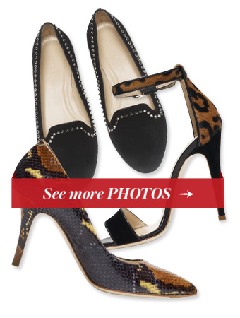 Club Monaco Shoe Collection