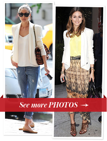 Olivia Palermo Recycling Fashion