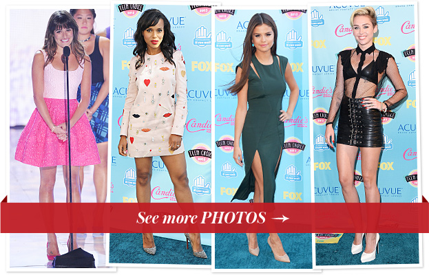 Teen Choice Awards Red Carpet 2013
