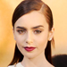 Get the Look: Lily Collins' Sleek Half-Updo