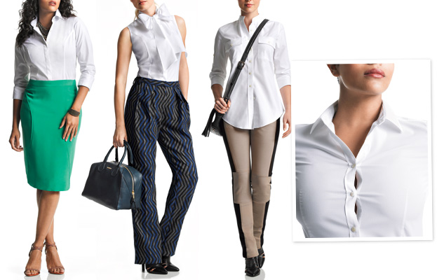 InStyle Essentials white shirts
