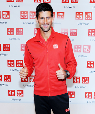 Novak Djokovic Uniqlo