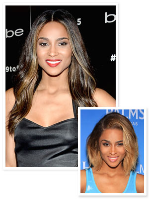 Ciara New Hair