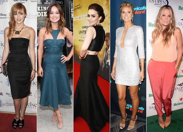 Bella Thorne, Olivia Wilde, Lily Collins, Heidi Klum and Molly Sims
