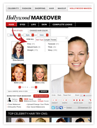 InStyle Hollywood Makeover
