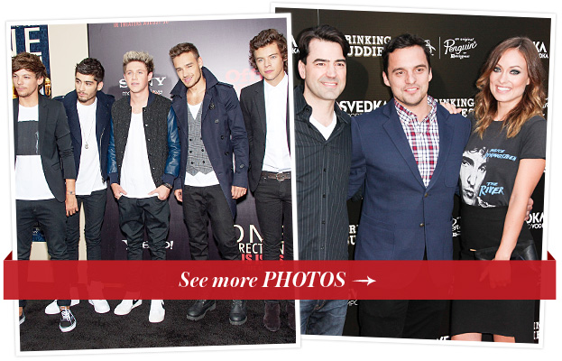 One Direction and Drinking Buddies Movie Premieres