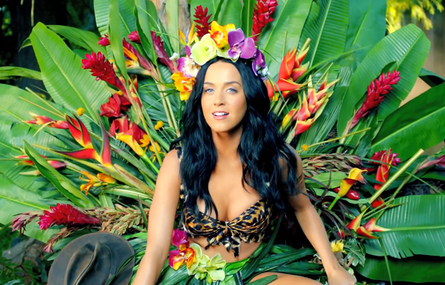 Katy Perry in Roar music video