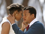 Jennifer Hudson and Terrence Howard in Winnie Mandela