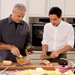 Could Zac Posen Be More Adorable? See Him Cook with Eric Ripert