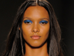 New York Spring Fashion Week 2014 - Blue Eye Shadow - Runway Beauty