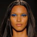 New York Fashion Week Runway Makeup Trend: Blue Eye Shadow