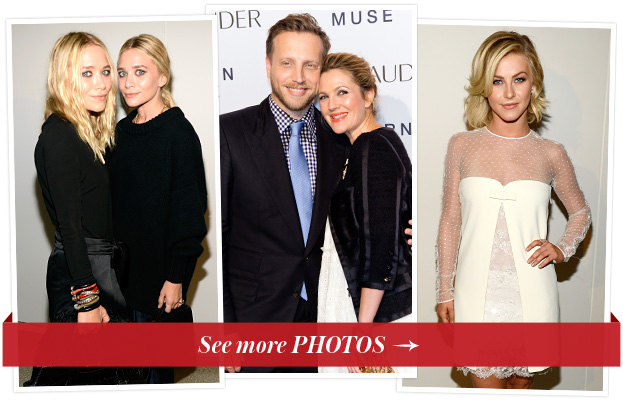 Mary-Kate and Ashley Olsen, Ariel Foxman, Drew Barrymore and Julianne Hough
