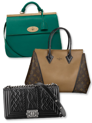 Mulberry - Louis Vuitton - Chanel - Handbags