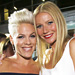 Pink and Gwyneth Paltrow Go Monochromatic at the Thanks for Sharing Premiere