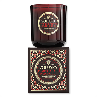 Candles - Voluspa Pomegranate Patchouli
