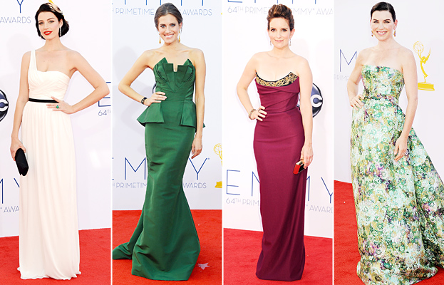 Jessica Pare, Allison Williams, Tina Fey, Julianna Margulies