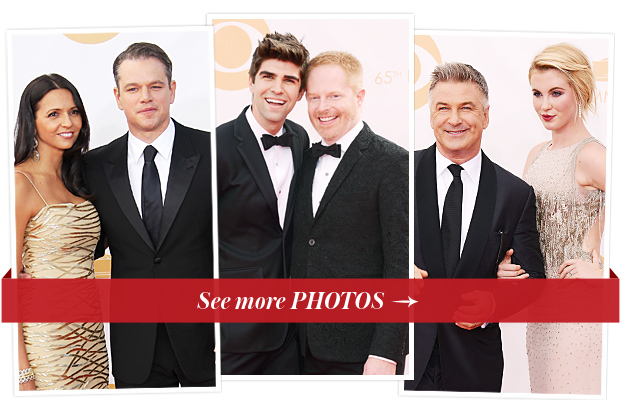Luciana and Matt Damon, Jesse Tyler Ferguson and Justin Mikita, and Alec and Ireland Baldwin
