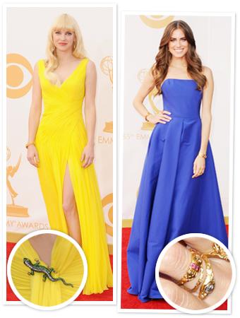 Emmys: Serpentine Jewelry