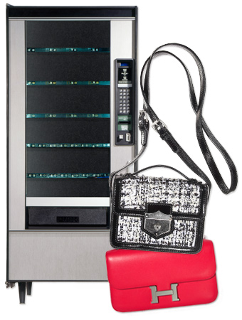 Vending Machines and handbags