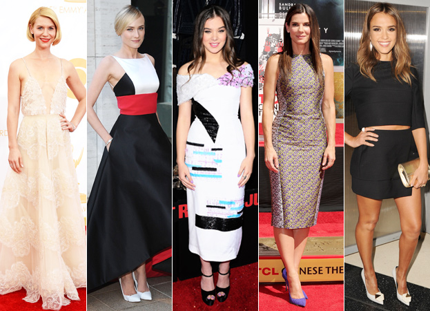 Claire Danes, Diane Kruger, Hailee Steinfeld, Sandra Bullock and Jessica Alba