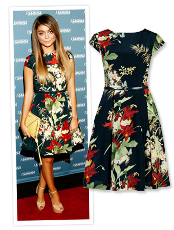 Sarah Hyland and Ted Baker London
