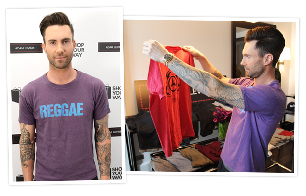 Adam Levine and Men's Collection