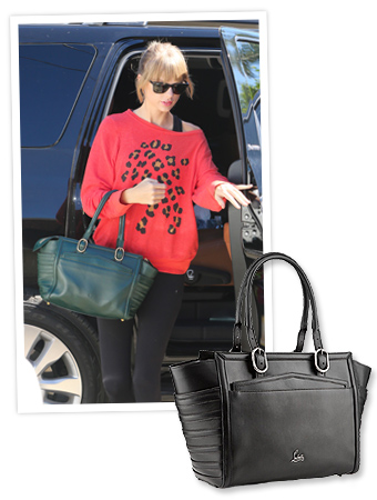 Taylor Swift and Christian Louboutin Bag