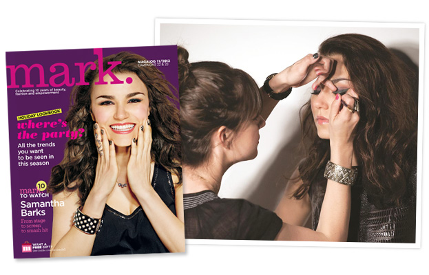 Samantha Barks - mark. Cover