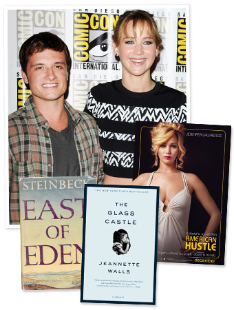 Jennifer Lawrence, Josh Hutcherson, American Hustle, East of Eden, The Glass Castle