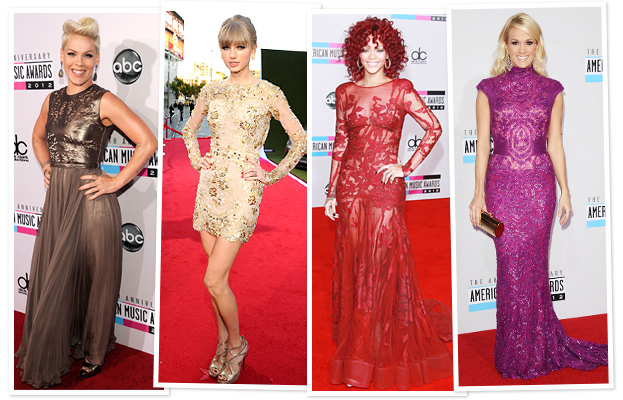 Pink, Taylor Swift, Rihanna and Carrie Underwood