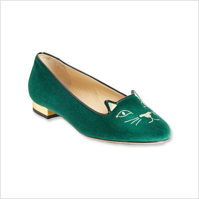 Charlotte Olympia animal loafers