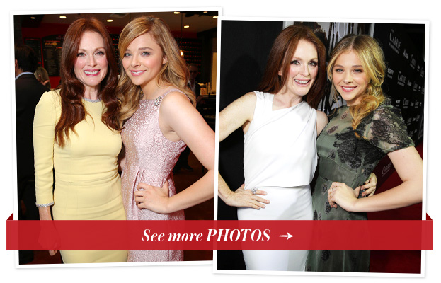Julianne Moore and Chloe Moretz
