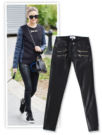 Olivia Palermo and Paige Denim