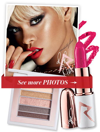 Rihanna - MAC - Holiday Makeup